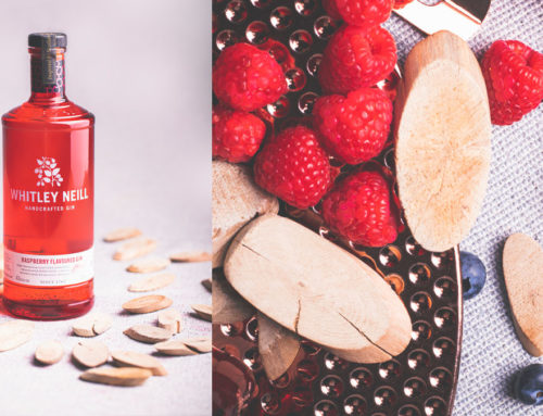 Whitley Neill Raspberry Gin Product Shoot